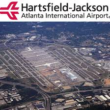 Atlanta International Airport Map by 1925 Hartsfield U2013jackson Atlanta International Airport Atlanta