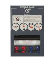 M El Schreibtisch Schreibtisch Curling Spiel Hema