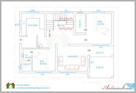 1600 square feet house plan and its 3d elevation architecture kerala