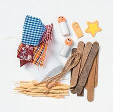 wooden nativity ornament craft kit craft kits crafts
