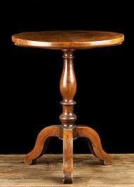 vintage pedestal side table antique table french antique table alhambra antiques