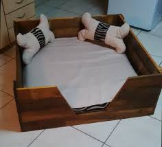 pooch u0027s perfect pallet dog bed with homemade cushions u0026 pillows