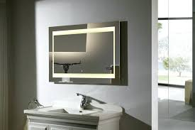 Lighted Bathroom Vanity Mirror Lighted Bathroom Vanity Mirrors Excellent Led Wall Mounted Lighted