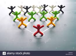 organizational corporate hierarchy chart of a company stock photo