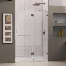 48 Inch Glass Shower Door Frameless Glass Sliding Tub And Shower Doors Mainfaucet