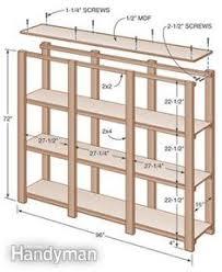 Building Wooden Garage Storage Shelves by Diy Storage Shelves Plans Diy Do It Your Self