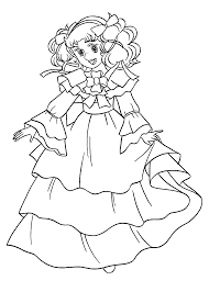 nice candy candy anime coloring pages for kids printable free