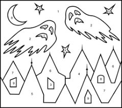 ghosts coloring printables apps kids