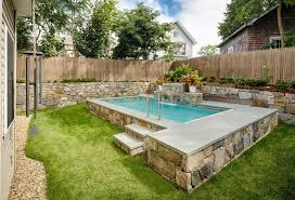 delighful pools for very small backyards pool designs patio ideas