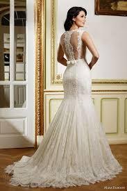 trumpet wedding dresses trumpet lace wedding dress wedding corners