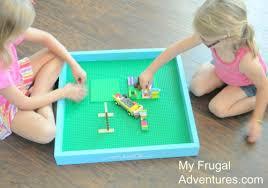 Legos Table Easy Diy Lego Tray Just 5 00 My Frugal Adventures