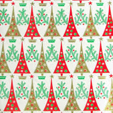 vintage wrapping paper retro christmas wrapping paper cheminee website