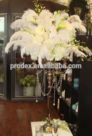 ostrich feather centerpieces wedding candelabra centerpiece ostrich feather centerpiece