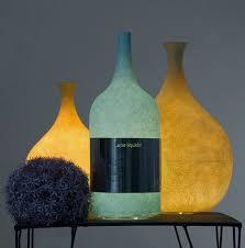 unique shaped wine bottles unique table l in wine bottle shape luce liquida l home