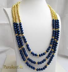 blue fashion necklace images Necklaces parakeet house jpg