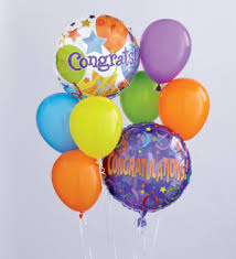 balloon delivery la distinctive floral designs congratulations balloon bouquet slidell