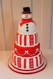 snowman christmas cake blog