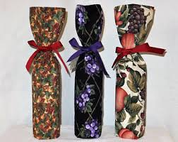wine bottle gift wrap wine bottle gift bag etsy