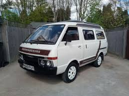 nissan vanette interior nissan vanette camper van coach built new gear box new clutch just