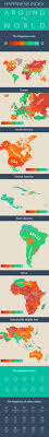 Map Of Central America And South America These Maps Show The Happiest Countries In The World