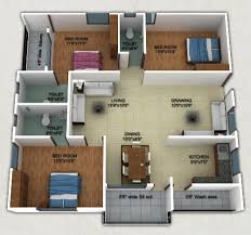 home design 3d 3 bhk 3d home design of architecture computer