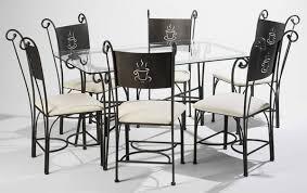 table de cuisine fer forgé idée de modèle de cuisine