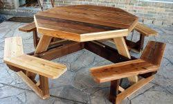 Picnic Table Dining Room Round Pedestal Dining Room Table With Leaf U2022 Round Table Ideas