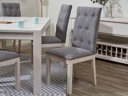 Upholstered Dining Chairs Melbourne by Dandenong Whitewash Dining Furniture Dining Chairs U0026 Tables