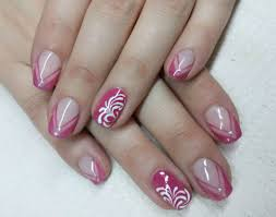 purple french manicure the best images bestartnails com