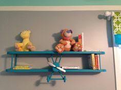 Airplane Kids Room by Aeroplane Bookshelf Sopwith Camel Bookshelf Biplane Book Shelf