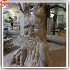 unique design artificial decorative trees stumps fiberglass tree