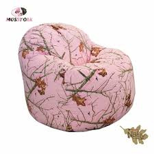 realtree pink camo bean bag chair make you lazy my daughter