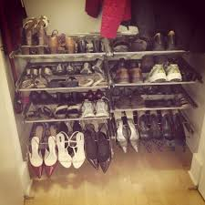 elfa slide out shoe rack for the home pinterest shoe rack
