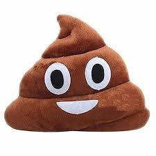 emoji poo shape pillow cushion stuffed plush toy amazon co uk