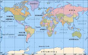 world maps map for the world major tourist attractions maps