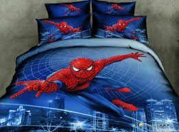 spider man 3d comforter covers queen size bule doona duvet cover