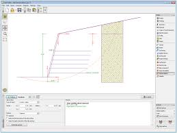 mse wall geo5 geotechnical design software reinforced soil