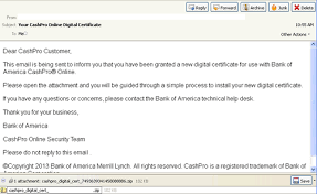 bank of america help desk threattrack security malicious spam alerts bank of america