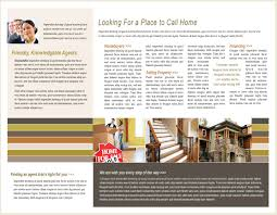 real estate brochure template printable templates
