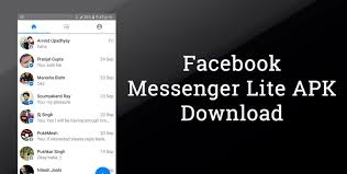 fb massanger apk messenger lite apk for android version