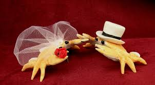 ceramic crab wedding cake toppers the wedding specialiststhe