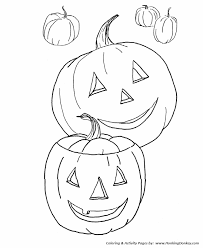 fall coloring pages kids fall halloween pumpkins coloring