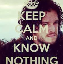 You Know Nothing Meme - you know nothing jon snow game of thrones pinterest jon snow
