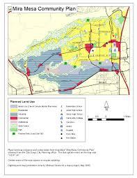 Carroll Community College Map Mira Mesa Community Plan Mira Mesa Town Council