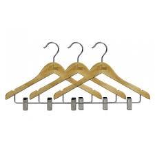 15 wooden hanger pack of 3 duffel uk