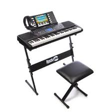 amazon keyboard black friday amazon com rockjam 61 key electronic keyboard superkit with stand