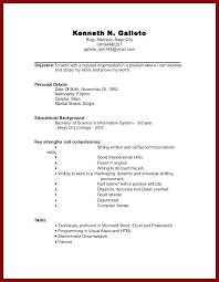 resume templates for students resume exles college student sle for high school students