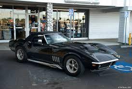 68 stingray corvette 1968 corvette stingray roadster black with top up fvr