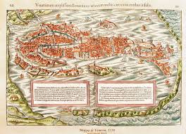 Venice Map Amazing Maps Of Medieval Cities U2013 Earthly Mission Venezia 1550