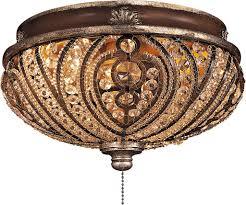 crystal chandelier light kit for ceiling fan fancy universal light kits for ceiling fans 38 on artichoke